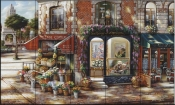 The Village Corner    - Tile Mural