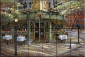 Mandis Cafe    - Tile Mural