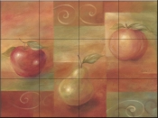 Fruit Collage    - Tile Mural