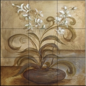 Orchid Delight II   - Tile Mural