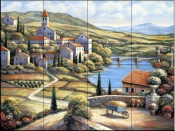 The Village A    - Tile Mural