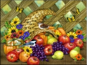 Harvest Time    - Tile Mural