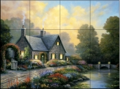 Evening Splendor  2  - Tile Mural