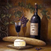 JZ-Wine and Cheese B - Accent Tile