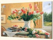 French Tulips and Crabapples - Solo Tile