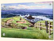 7th At Pebble Beach - Splashback Mural