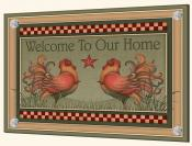 Welcome Roosters - Splashback Mural