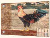 PB-Good Morning Rooster - Splashback Mural