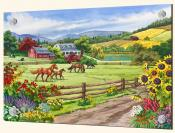 A Day in the Country-NW - Splashback Mural