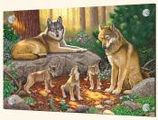 A Family of Wolves-CH - Solo Tile