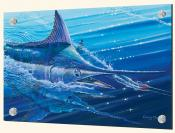 Blue Marlin Strike-CC - Splashback Mural
