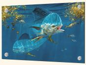 Dolphin in the Weeds-DR - Splashback Mural