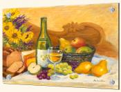 Autumn Afternoon Chardonnay-RK - Splashback Mural