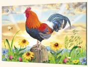 Rooster at Dawn-RS - Splashback Mural