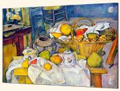 Still life with Fruit Basket - Splashback Mural