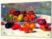 Still life with Tropical Fruit - Splashback Mural