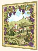 Country Vineyard-JVD - Splashback Mural