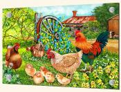 Farmyard Family-VS - Splashback Mural
