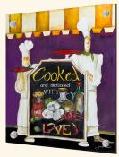 Cooked With Love-JG - Splashback Mural