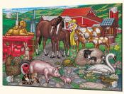 Farm Mothers and Babies - Splashback Mural
