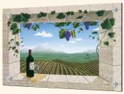 Mariposa Vineyards - DFA - Splashback Mural