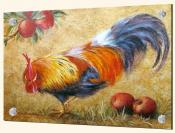 Rooster with Apples 2 - Splashback Mural