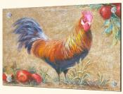Rooster with Apples 1 - Splashback Mural