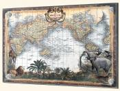 World Map - Splashback Mural