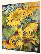 Cascading Sunflowers - Solo Tile