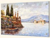 Evening Light on Lake Como - Solo Tile